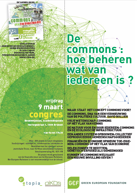 Affiche commons congres
