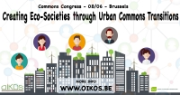 Transition to sustainable Urban Commons